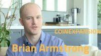 Brian Armstrong CEO of coinbase exchange