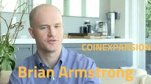 Brian Armstrong CEO of coinbase exchange