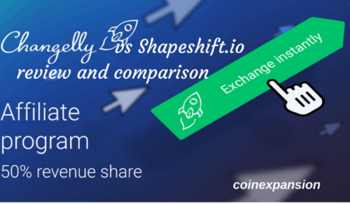 changelly vs shapeshift comparison best instant cryptocurrency exchange