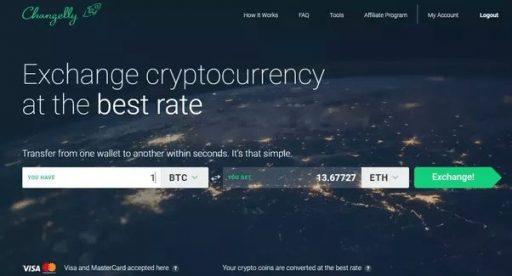 changelly exchange one of the best bitcoin exchange worldwide 2018