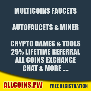 allcoins.tw multicoin faucet one of the best high paying multicoin faucet