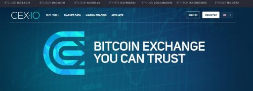 cex.io exchange one of the best Bitcoin exchange worldwide or best cryptocurrency exchanges