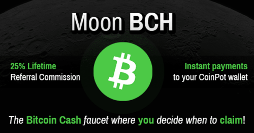 moonbitcoin.cash faucet one of the best paying bitcoin cash faucets to earn free bitcoin cash