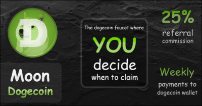 moondoge.co.in faucet one of the best high paying dogecoin faucet or no withdrawal limit faucet