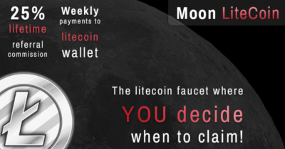 moonlitecoin faucet no withdrawal limit litecoin faucet