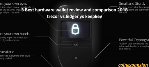 3 best hardware wallet review – trezor vs ledger vs keepkey