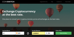 coinswitch best altcoin exchange to buy usd instantly