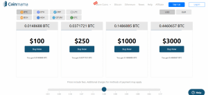 coinmama exchange