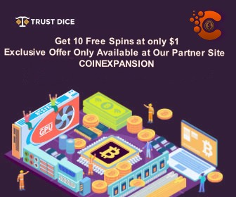 TrustDice casino offer