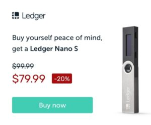 Buy Ledger Nano S from coinexpansion