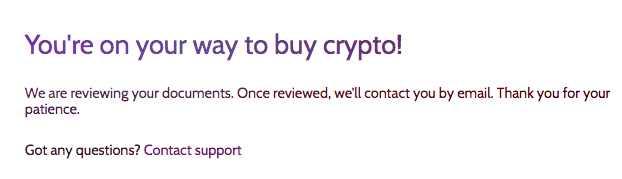 coinmama verification waiting
