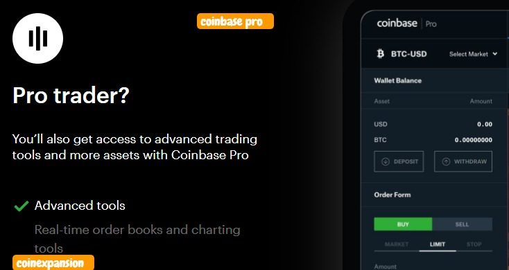 coinbase pro exchange review