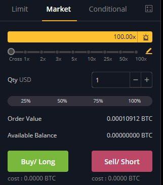 bybit derivatives exchange market order