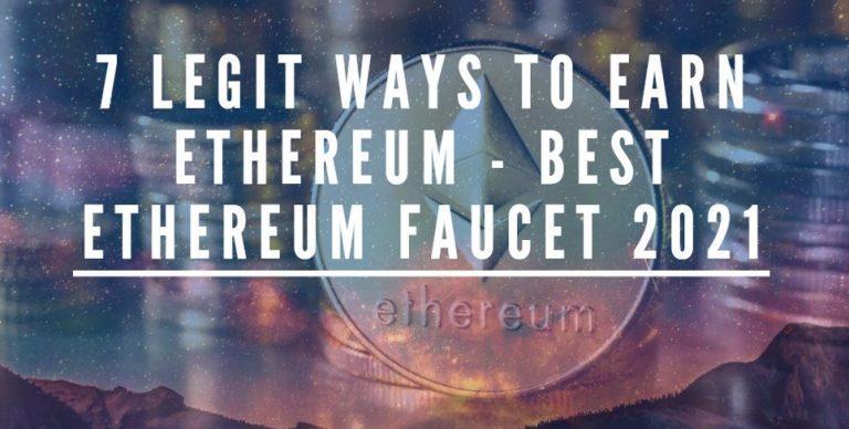 legit ways to earn ethereum best ethereum faucet