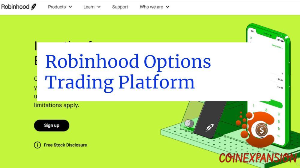 Robinhood Options Trading Platform