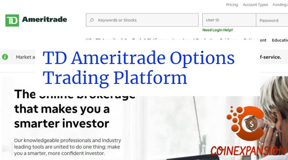 TD Ameritrade Options Trading Platform