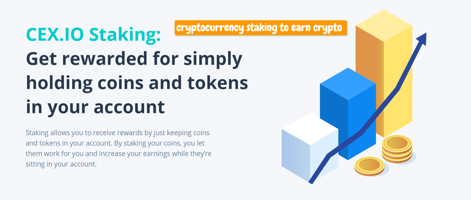 cryptocurrency staking to make passive income with cryptocurrency