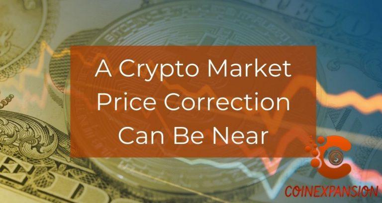 Crypto market price correction
