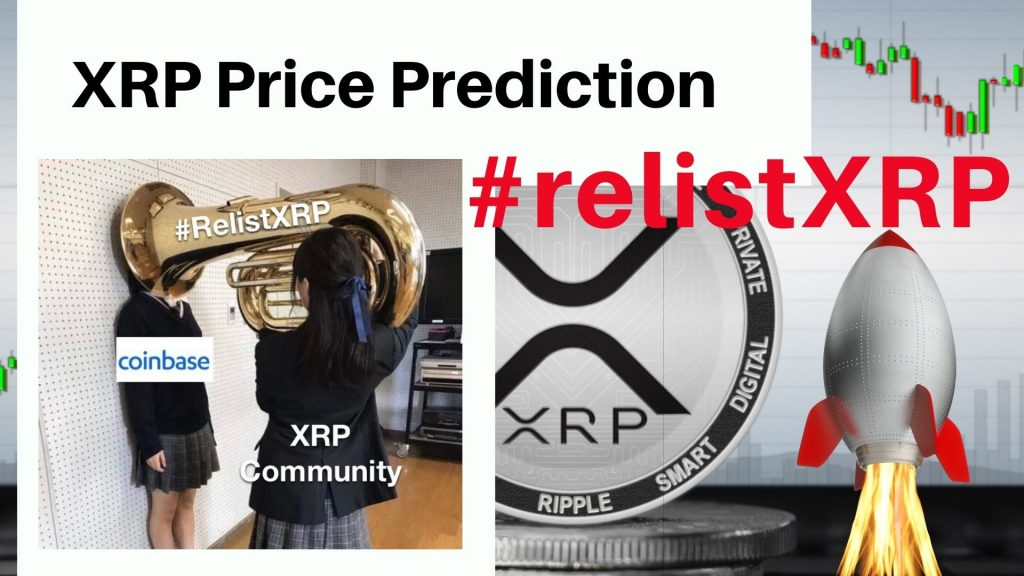 Ripple Price Prediction: XRP Targets $0.6 | #relistXRP​ campaign