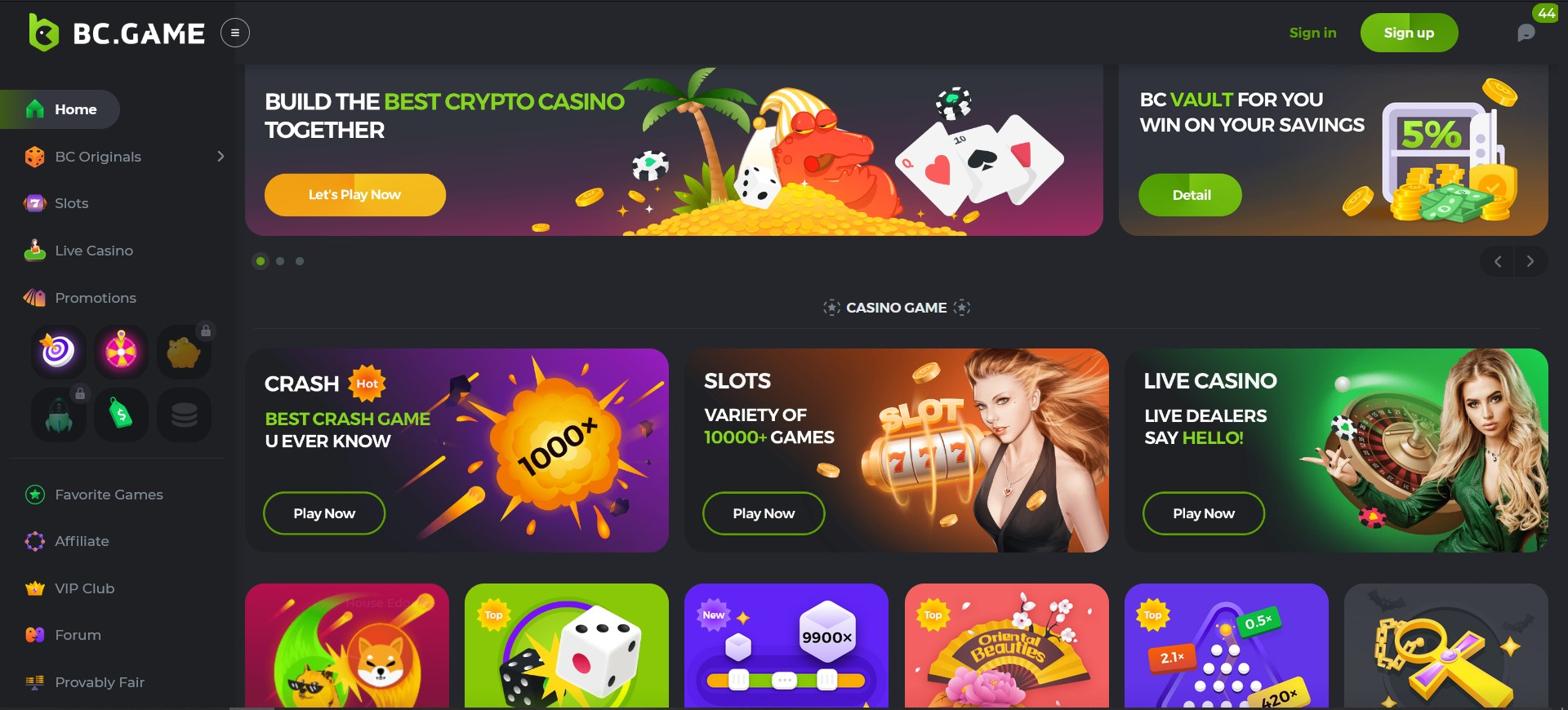 BC.Game Online Casino