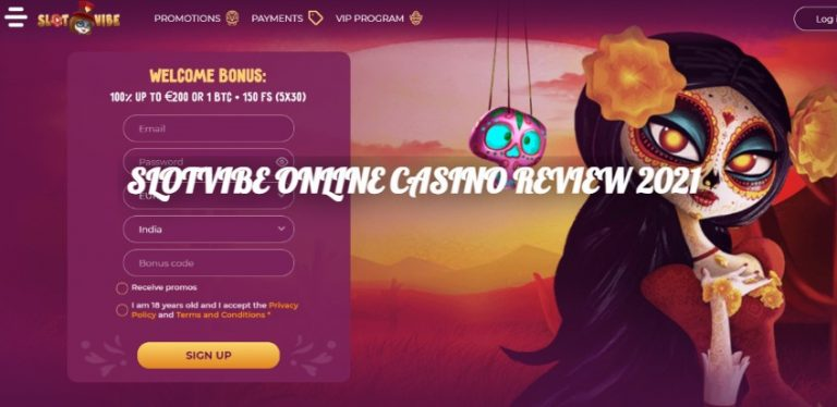 SLOTVIBE ONLINE CASINO REVIEW