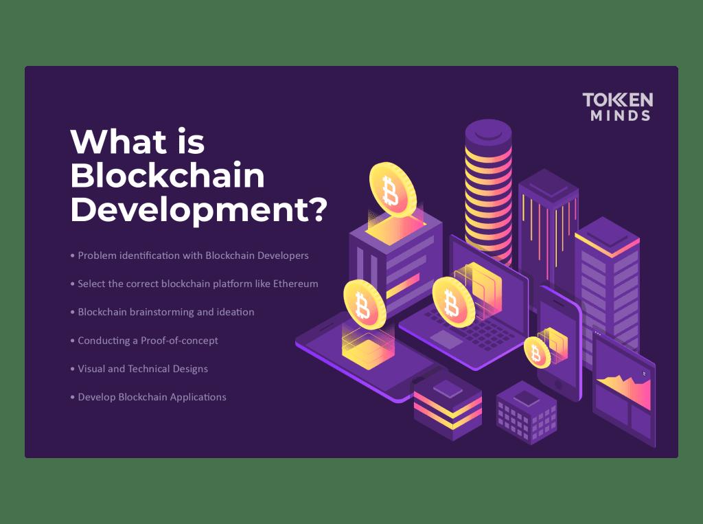 What is blockchain development banner